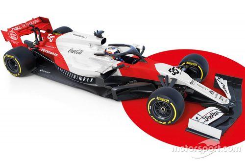 McLaren MCL34 fantázia