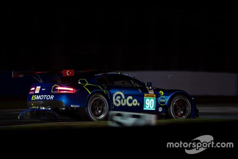 #90 TF Sport Aston Martin Vantage: Salih Yoluc, Jonathan Adam, Charles Eastwood