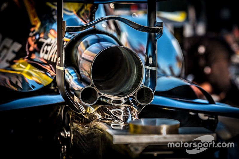 Renault F1 Team R.S.19, exhaust detail
