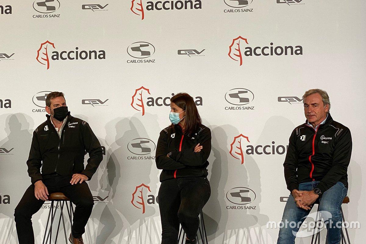 Carlos Sainz y Laia Sanz, ACCIONA - Sainz XE Team