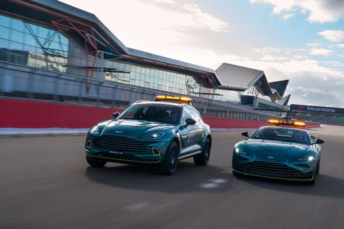 Aston Martin Safety and Medical cars unveil