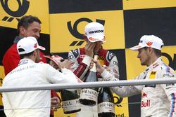 Podium: 1. Jamie Green, Audi Sport Team Rosberg, Audi RS 5 DTM; 2. Gary Paffett Mercedes-AMG Team HWA, Mercedes-AMG C63 DTM; 3. Marco Wittmann, BMW Team RMG, BMW M4 DTM