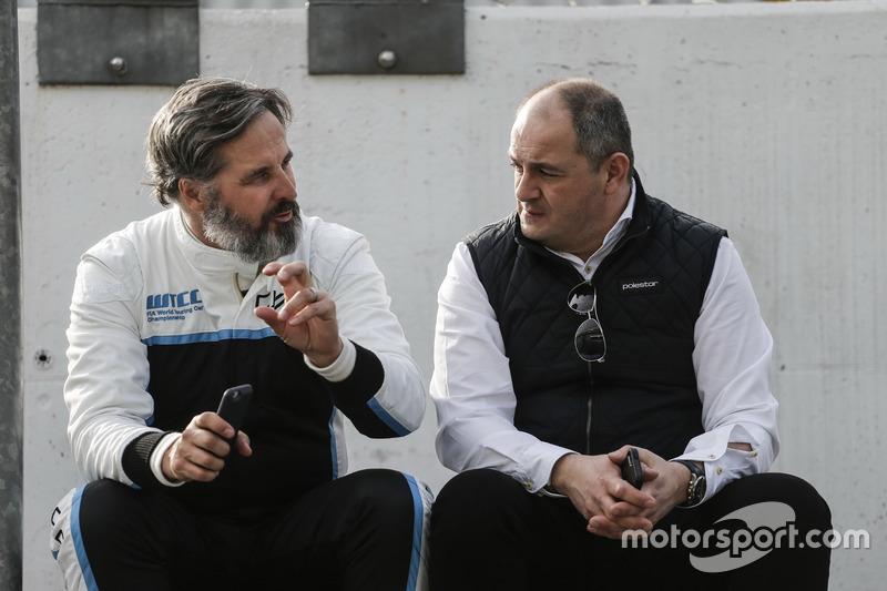 Yvan Muller, Polestar Cyan Racing, Volvo S60 Polestar TC1, piloto de desarrollo