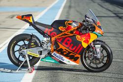 La moto de Miguel Oliveira, Red Bull KTM Ajo