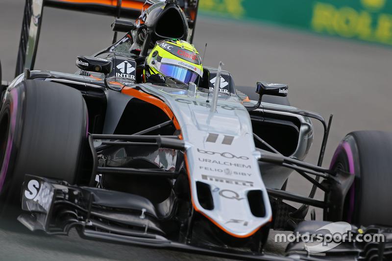 16: Sergio Perez: 123 grandes premios (el 85,42% de los disputados)