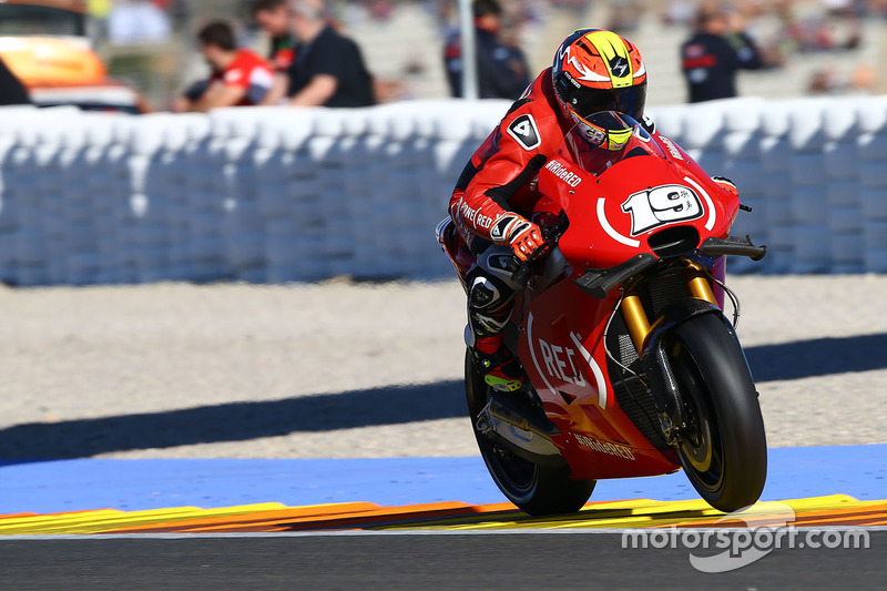 18. Alvaro Bautista, Aprilia Gresini Racing Team