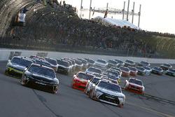 Christopher Bell, Joe Gibbs Racing Toyota, Kyle Benjamin, Joe Gibbs Racing Toyota