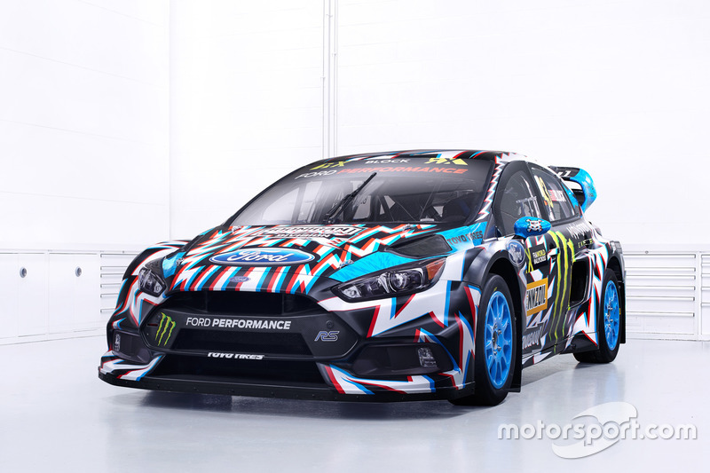 La voiture de Ken Block, Hoonigan Racing Division, Ford Focus