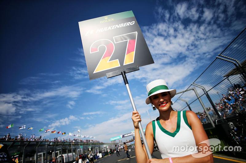 Грід-гьол Ніко Хюлькенберга, Renault Sport F1 Team
