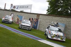Club de Pilotos Martini club cars