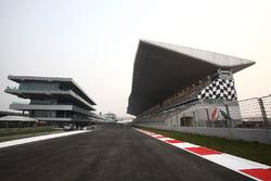 Buddh International Circuit in Noida: Start/Ziel-Gerade