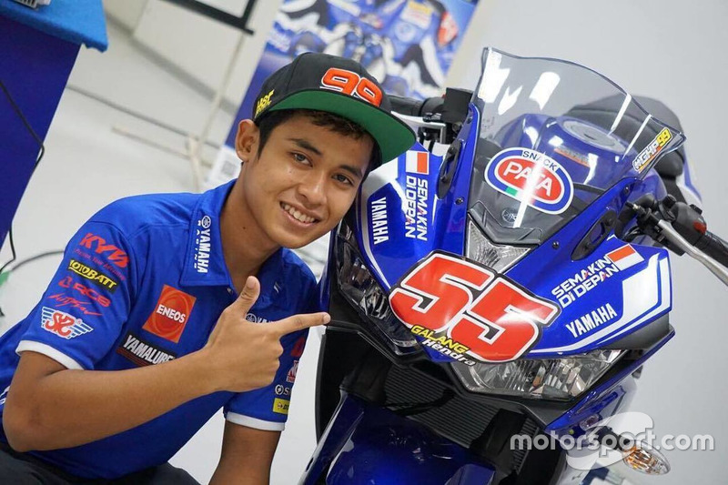 Galang Hendra, Yamaha Racing Indonesia