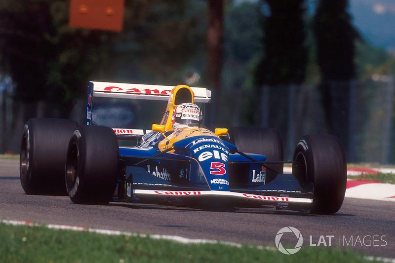 1992 год. Williams FW14B