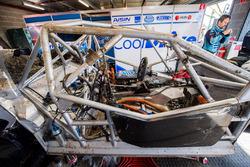 The car of Tim Blanchard, Brad Jones Racing Holden, Todd Hazelwood, Brad Jones Racing Holden