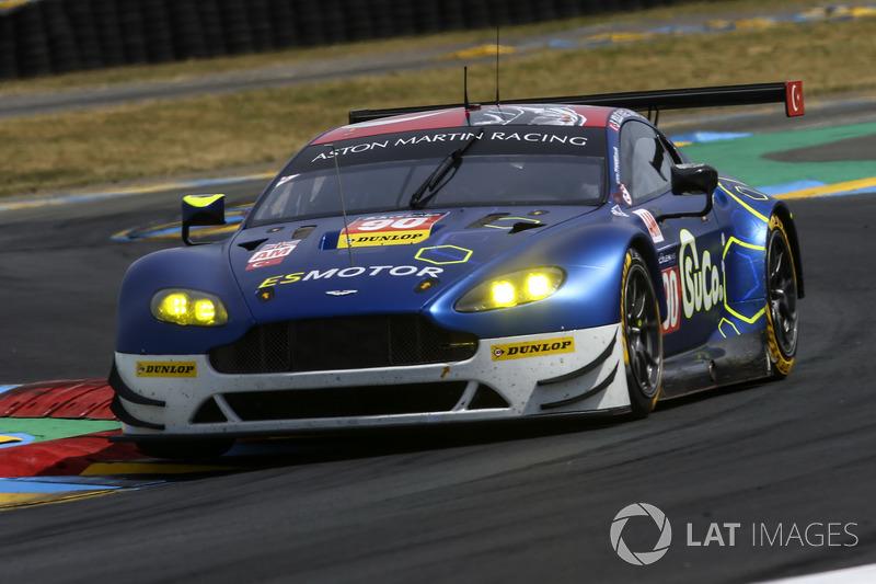 #90 TF Sport, Aston Martin Vantage: Salih Yoluc, Euan Hankey, Rob Bell