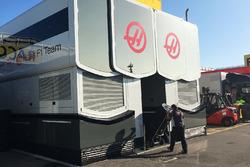 L'hospitalité Haas F1 Team