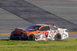 Daniel Suárez, Joe Gibbs Racing Toyota crash