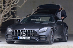 Mercedes AMG GT C Coupe Edition 50 Spy