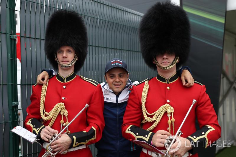 Felipe Massa, Williams y los guardias de Palacio