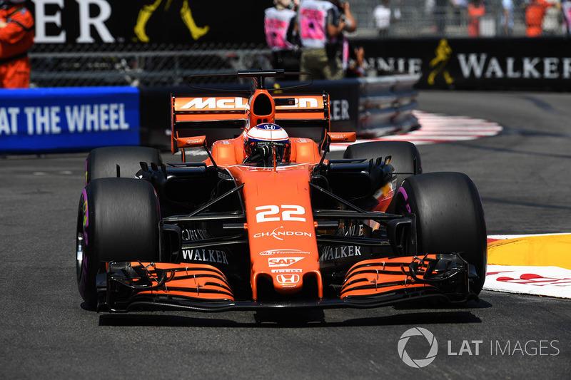 17 місце — Дженсон Баттон, McLaren. Умовний бал — 4,762