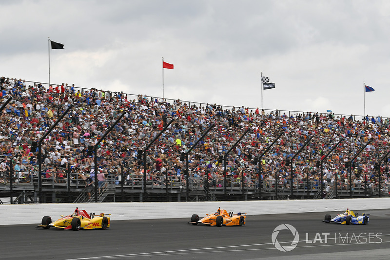 Ryan Hunter-Reay, Andretti Autosport Honda, Fernando Alonso, Andretti Autosport Honda