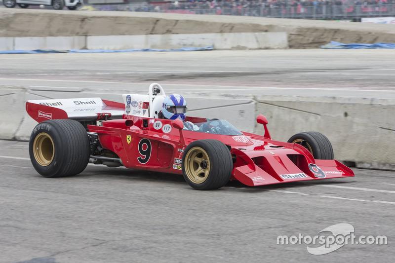 Ferrari 312B3 Жакі Ікса й Артуро Мерцаріо 1972 року
