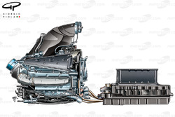 Mercedes PU106 powerunit and Energy Store