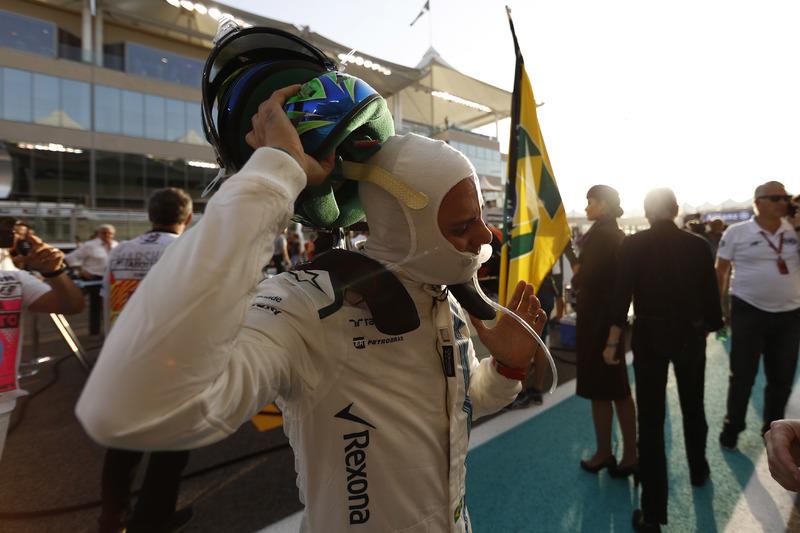 Felipe Massa, Williams, en la parrilla