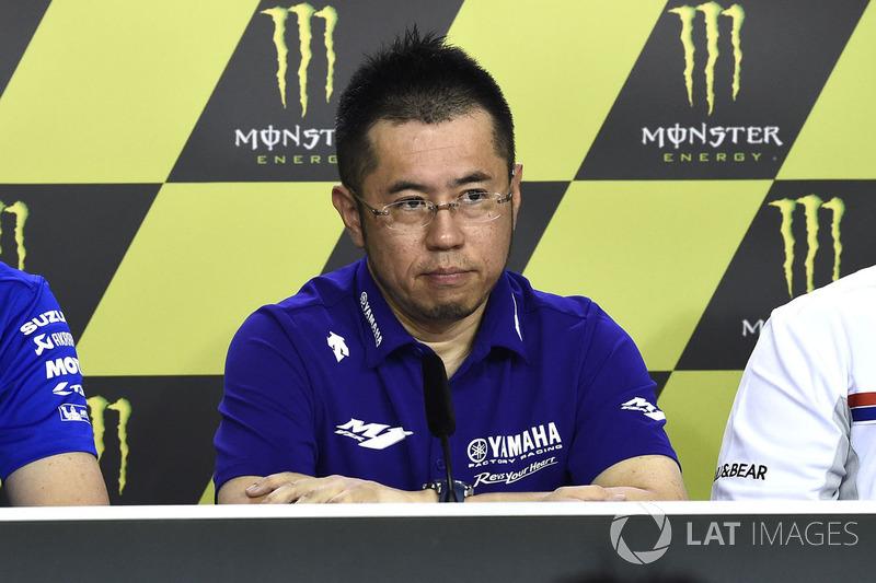 Kouji Tsuya, director técnico de Yamaha Factory Racing en MotoGP