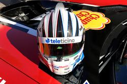 Helmet of Alex Fontana, AKKA ASP