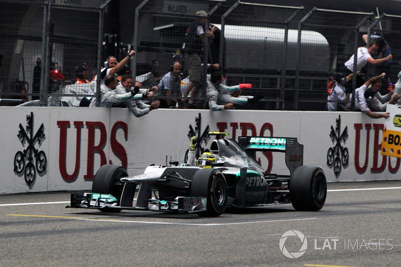 Пилоты Mercedes побеждали в Шанхае 5 раз