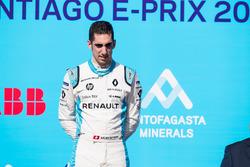 Il terzo classificato Sébastien Buemi, Renault e.Dams