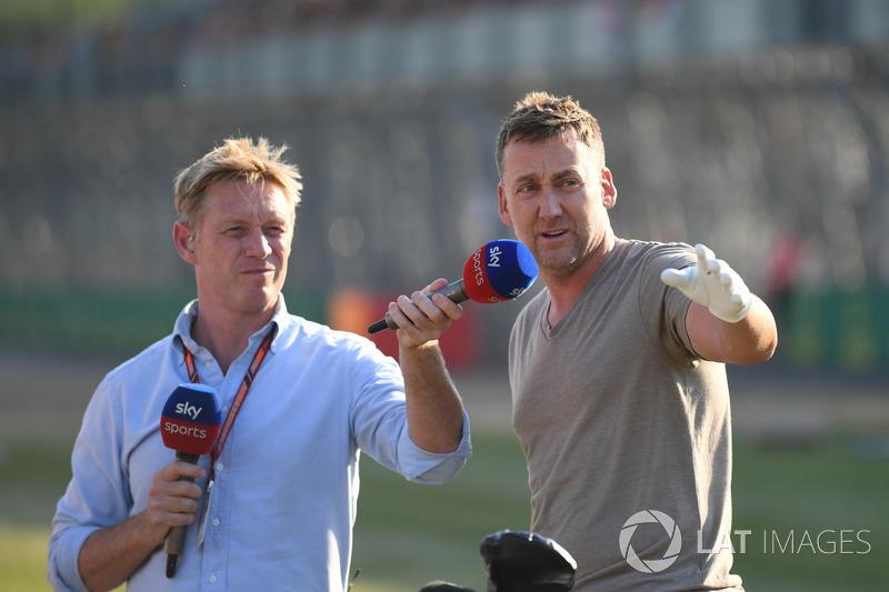 Simon Lazenby, Sky TV et Ian Poulter, Golfeur