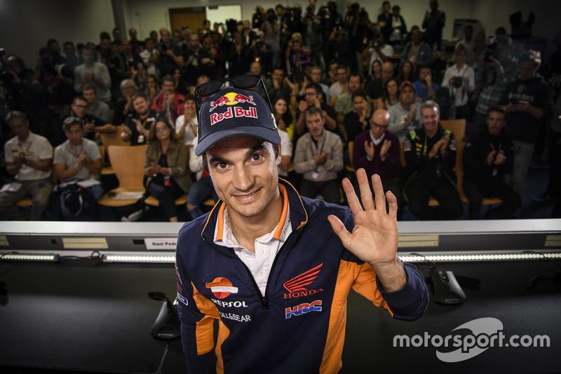 Dani Pedrosa, Repsol Honda Team press conference