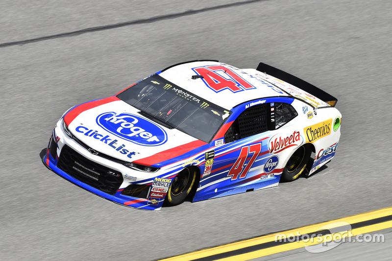 #47: A.J. Allmendinger, JTG Daugherty Racing, Chevrolet Camaro