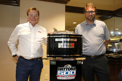 Team owner Richard Childress, Richard Childress Racing met Chip Wile, President Daytona International Speedway