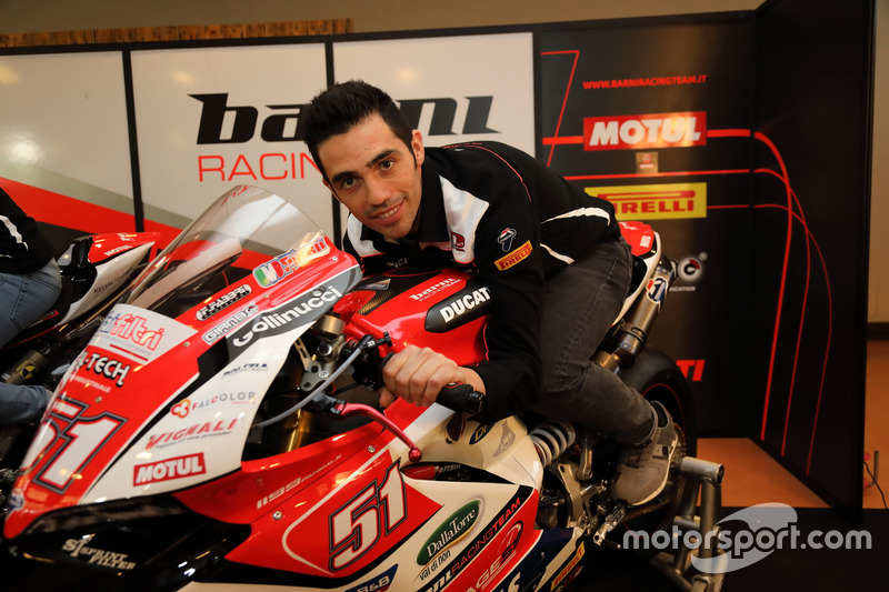 Michele Pirro, Barni Racing Team