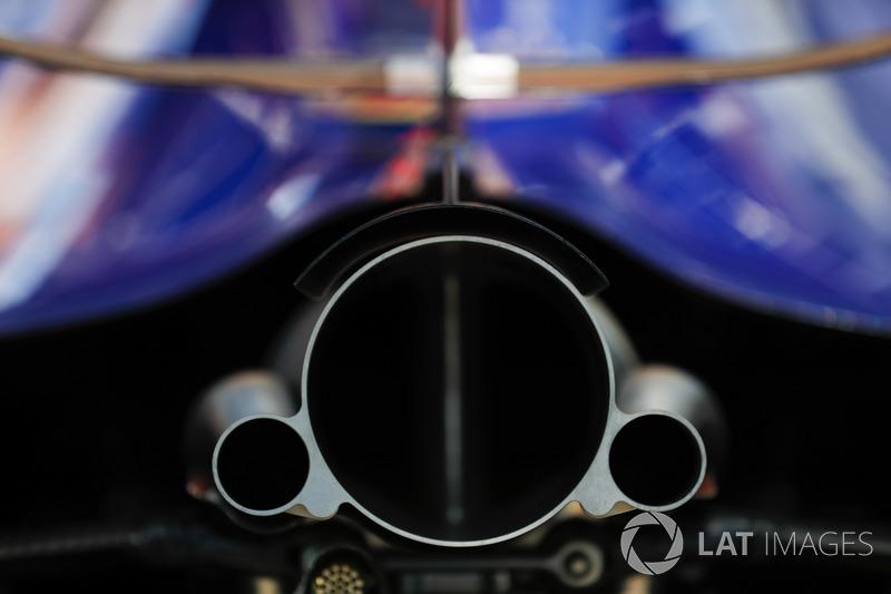 Echappement de la Toro Rosso Honda