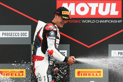 Podium STK1000: race winner Markus Reiterberger