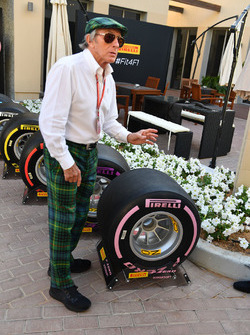Джекі Стюарт, шини Pirelli 2018 року