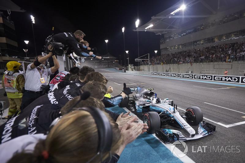 11º Valtteri Bottas - 18 carreras - De Mónaco 2017 a China 2018 - Mercedes