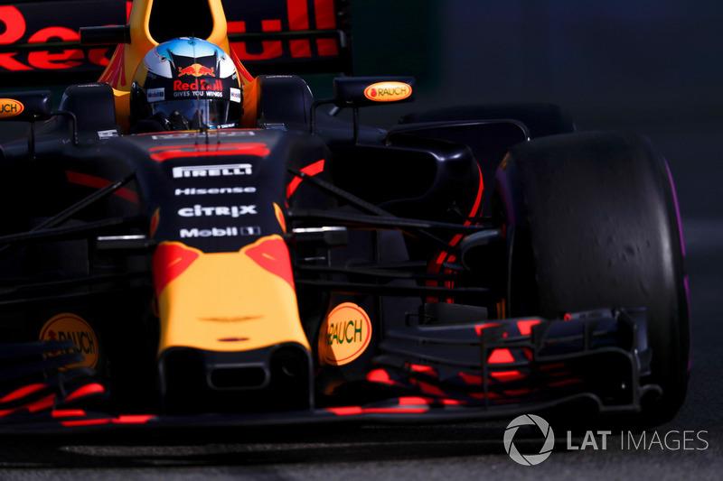 Daniel Ricciardo fez boa sessão, e colocou sua Red Bull em quarto lugar no grid, entre as duas Ferraris. Apesar de achar que não tem um rimo tão bom quanto as Mercedes e as Ferraris, o australiano espera lutar pelo pódio.