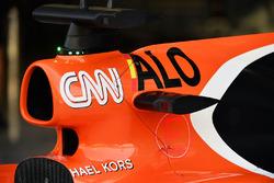 McLaren MCL32: Airbox
