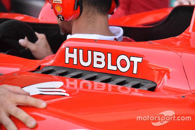 Ferrari SF70H, sfoghi dell'aria calda ai lati dell'abitacolo