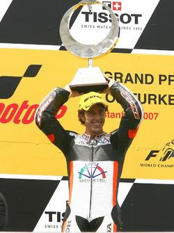 Podio: Andrea Dovizioso, Honda