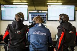 ART Grand Prix and Dallara engineers