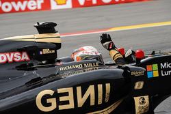 Le troisième Romain Grosjean, Lotus F1 E23