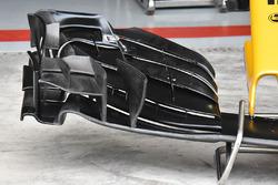 Renault Sport F1 Team RS17 nariz y el ala delantera