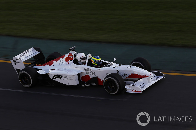 Zsolt Baumgartner, piloto de F1 Experiences