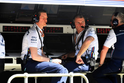 Rob Smedley, Williams Head of Vehicle Performance and Dave Redding, Williams
